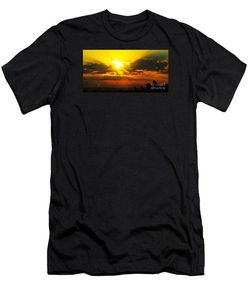 Mahlon Sweet Sunset Men's T-Shirt (Athletic Fit)