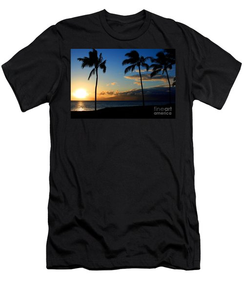 Mai Ka Aina Mai Ke Kai Kaanapali Maui Hawaii Men's T-Shirt (Athletic Fit)