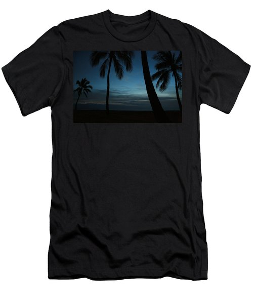 Ma'ili Beach After Sunset Men's T-Shirt (Athletic Fit)