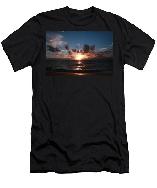 Ma'ili Sunset Men's T-Shirt (Athletic Fit)
