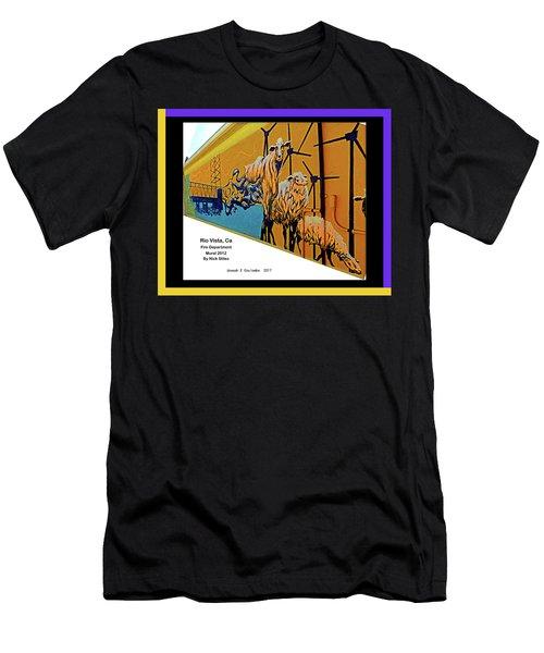 Main Street -  Nick Stiles Men's T-Shirt (Athletic Fit)