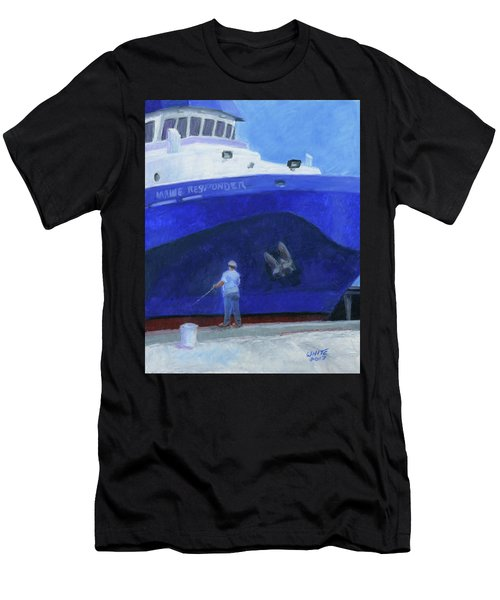 Maine Responder Men's T-Shirt (Athletic Fit)