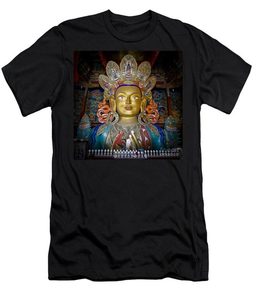 Maitreya Buddha Men's T-Shirt (Athletic Fit)