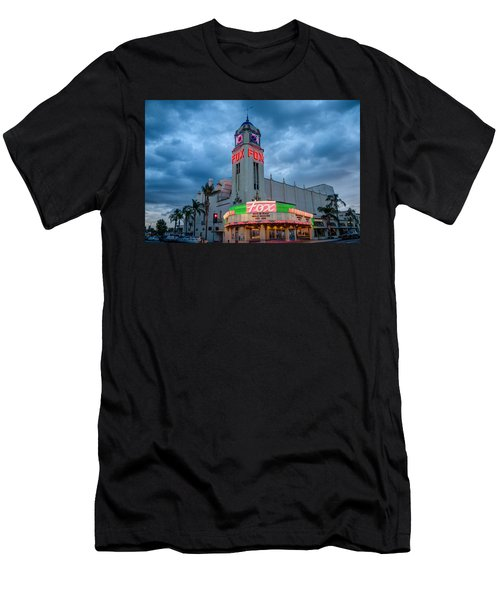 Majestic Fox Theater Tribute Merle Haggard Men's T-Shirt (Athletic Fit)