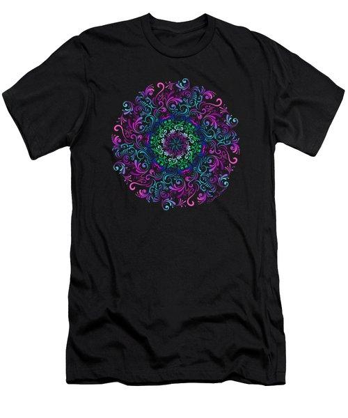 Majestic Kaleidoscope Men's T-Shirt (Athletic Fit)