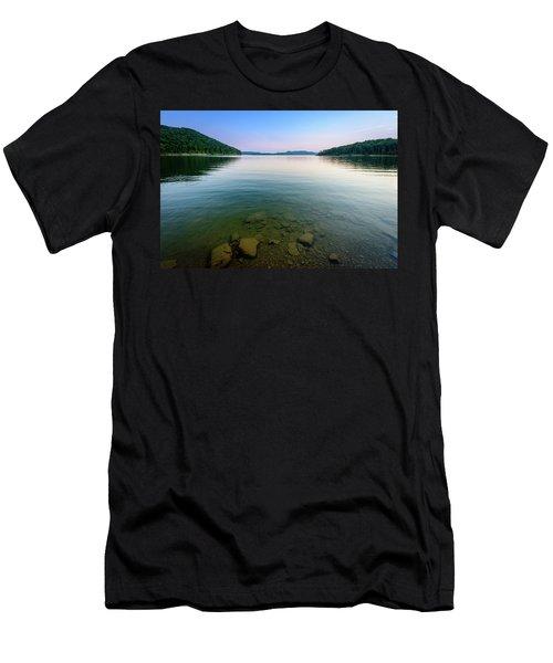 Majestic Lake Men's T-Shirt (Athletic Fit)