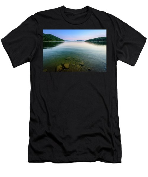 Majestic Lake Men's T-Shirt (Athletic Fit)