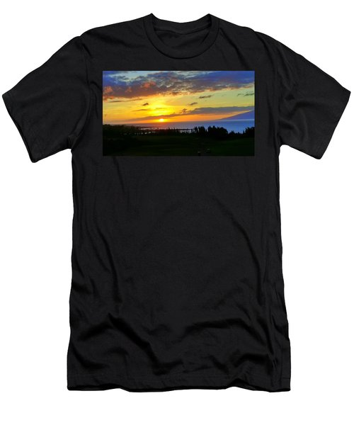 Majestic Maui Sunset Men's T-Shirt (Athletic Fit)