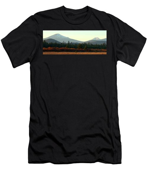 Majestic Mountains Men's T-Shirt (Slim Fit) by Terry Holliday Giltner