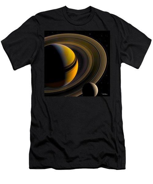 Majestic Saturn Men's T-Shirt (Athletic Fit)