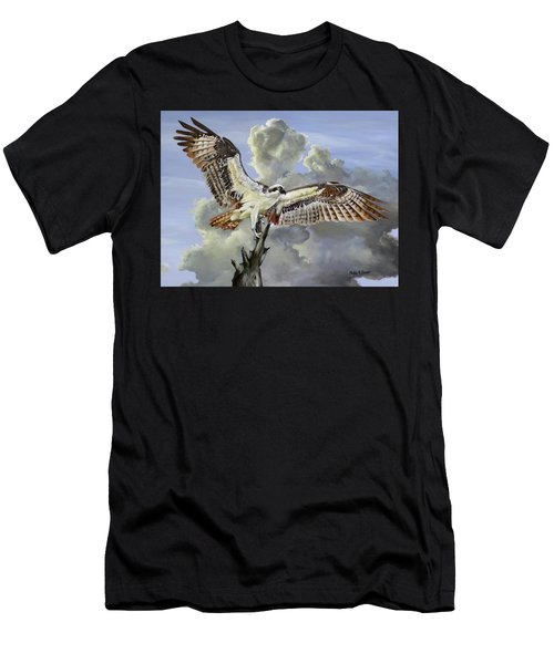 Majestic Sea Hawk Men's T-Shirt (Athletic Fit)