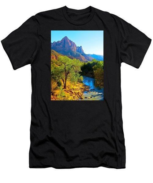 Majestic Watchman Men's T-Shirt (Athletic Fit)
