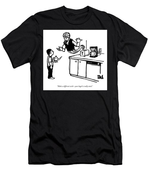 Make A Different Wish Men's T-Shirt (Athletic Fit)