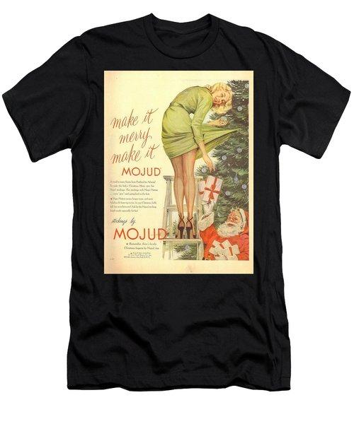 Make It Merry...make It Mojud Men's T-Shirt (Athletic Fit)