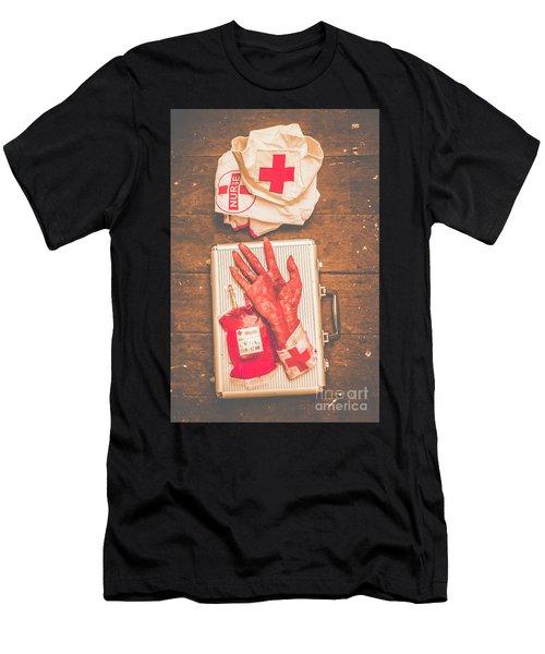 Make Your Own Frankenstein Medical Kit  Men's T-Shirt (Athletic Fit)