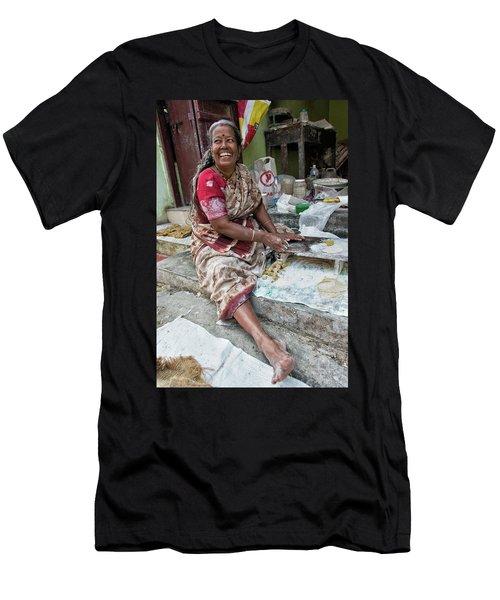 Making Chapatti Men's T-Shirt (Athletic Fit)