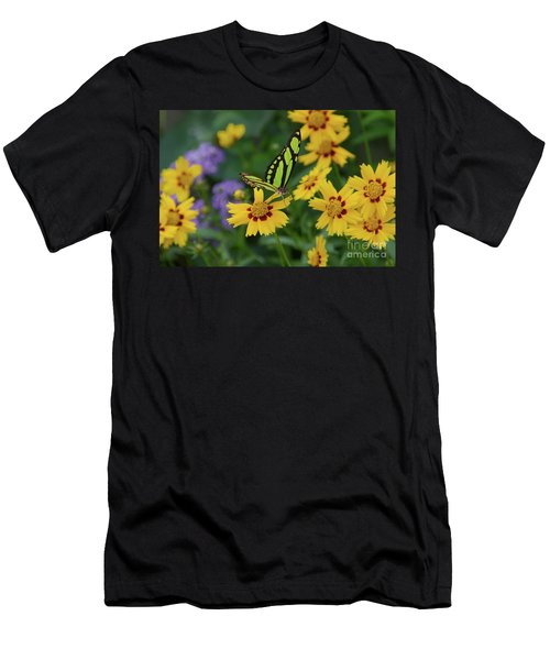 Malachite Butterfly Men's T-Shirt (Athletic Fit)