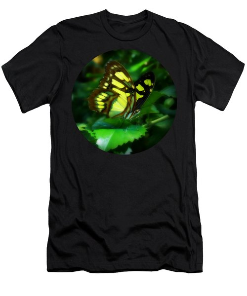 Malachite Spotlight Men's T-Shirt (Athletic Fit)