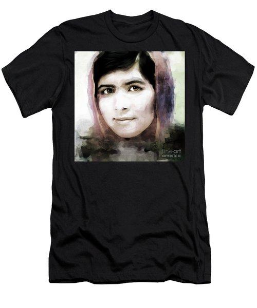 Malala Yousaf Zai 10 Men's T-Shirt (Slim Fit) by Gull G