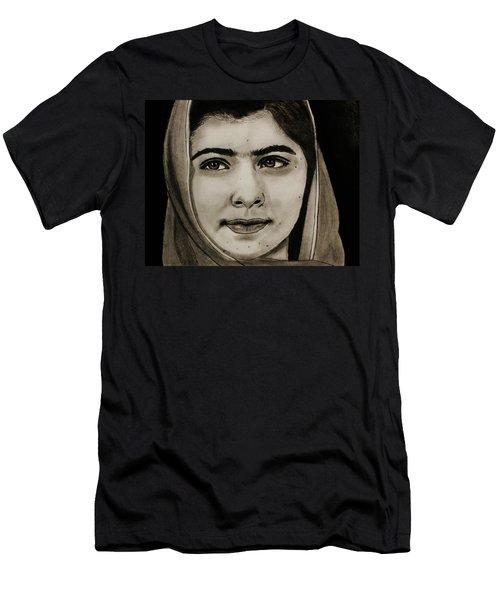 Malala Yousafzai- Teen Hero Men's T-Shirt (Athletic Fit)
