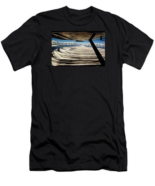 Malaspina Glacier Alaska Men's T-Shirt (Athletic Fit)