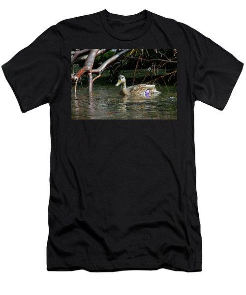 Mallard Female Men's T-Shirt (Athletic Fit)