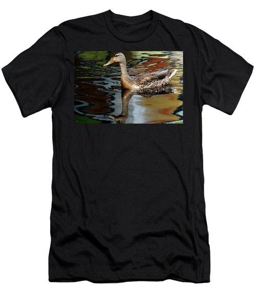 Mallard Moment Men's T-Shirt (Athletic Fit)