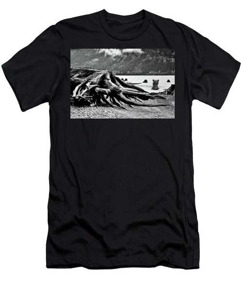 Mama Bear And Her Cub Men's T-Shirt (Athletic Fit)