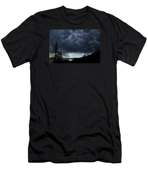 Men's T-Shirt (Athletic Fit) featuring the photograph Mammatus by Sean Sarsfield