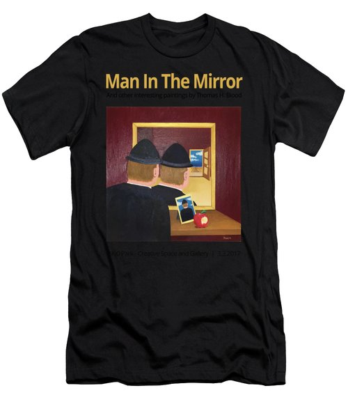 Man In The Mirror T-shirt Men's T-Shirt (Athletic Fit)