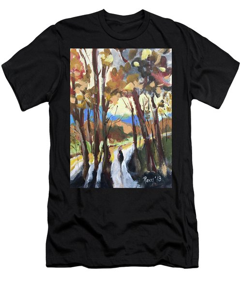 Man In The Woods Men's T-Shirt (Athletic Fit)