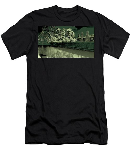 Men's T-Shirt (Athletic Fit) featuring the photograph Manchester Factory by David Patterson