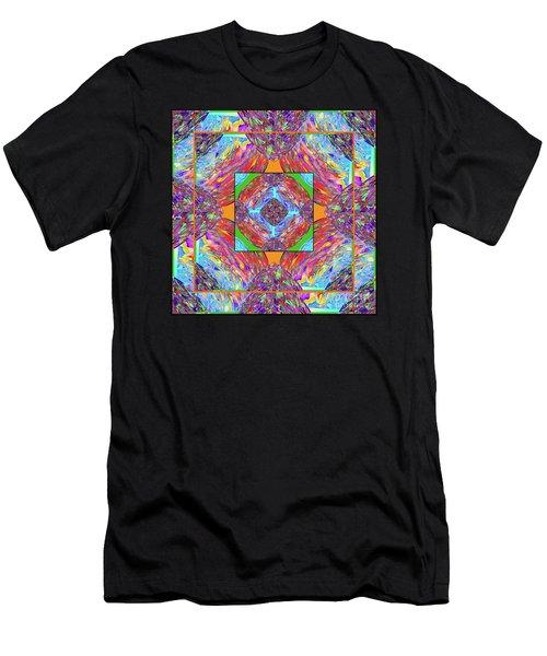 Mandala #1 Men's T-Shirt (Athletic Fit)