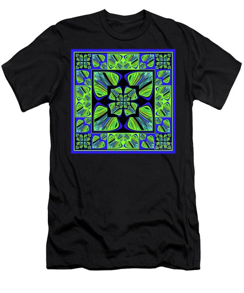 Mandala #22 Men's T-Shirt (Athletic Fit)