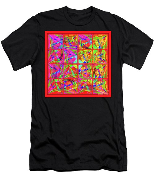 Mandala #48 Men's T-Shirt (Athletic Fit)