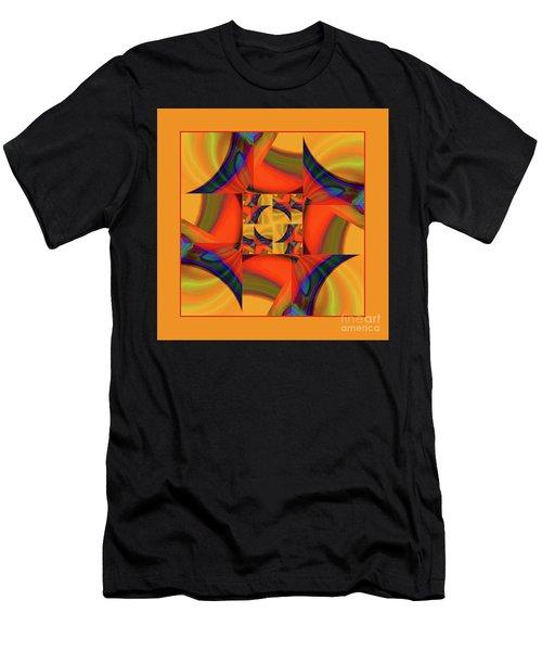 Mandala #56 Men's T-Shirt (Athletic Fit)