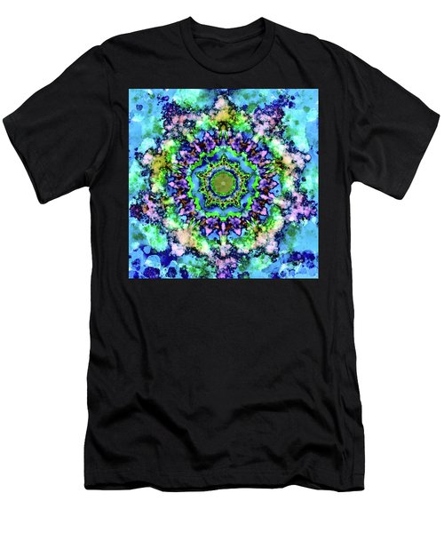 Mandala Art 1 Men's T-Shirt (Athletic Fit)