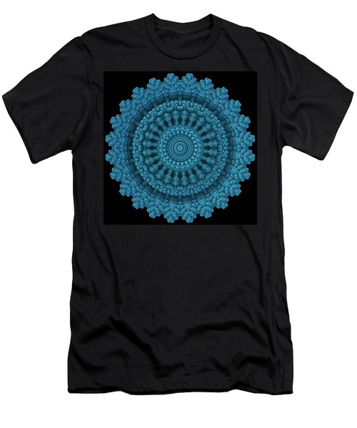 Men's T-Shirt (Slim Fit) featuring the digital art Mandala For The Masses by Lyle Hatch