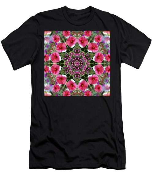 Mandala Pink Patron Men's T-Shirt (Athletic Fit)