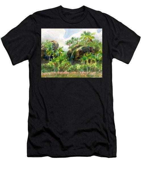 Mangaia Cliffs Men's T-Shirt (Athletic Fit)