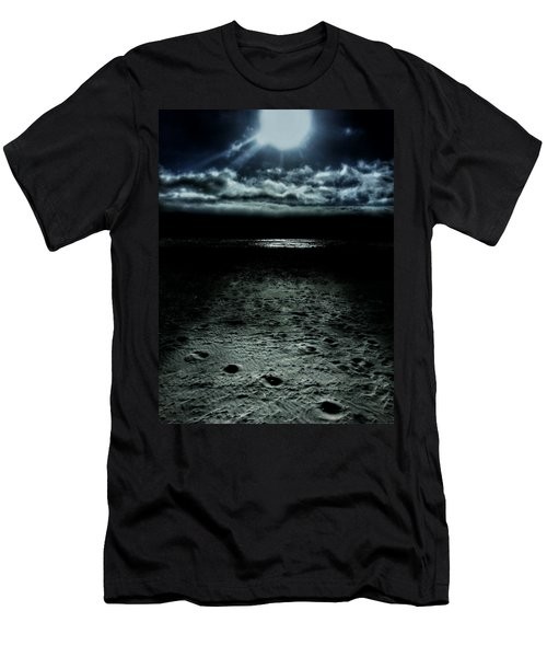 Manhattan Beach Dark Men's T-Shirt (Athletic Fit)