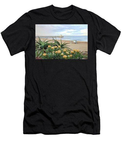 Manhattan Beach View Men's T-Shirt (Athletic Fit)