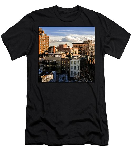 Manhattan From The Whitney Men's T-Shirt (Athletic Fit)