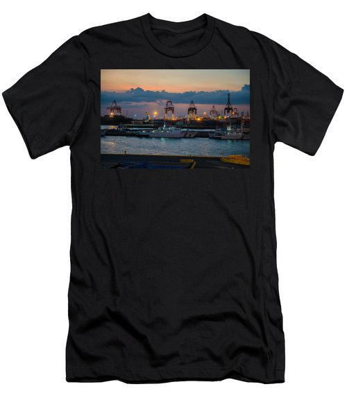 Manila Port Men's T-Shirt (Athletic Fit)