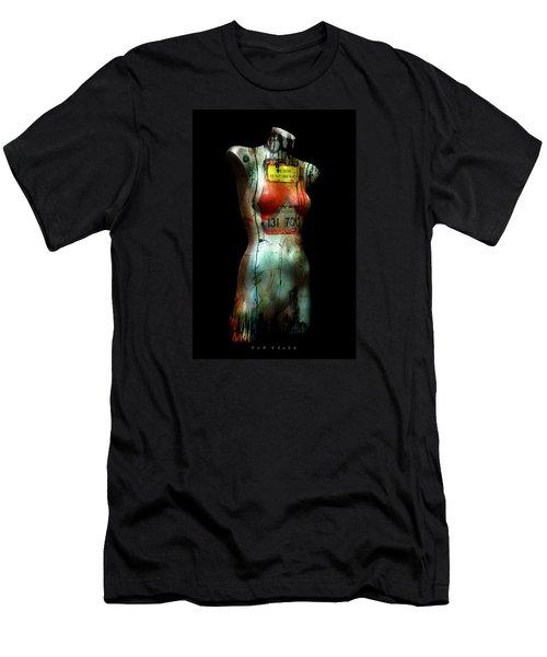 Mannequin Graffiti Men's T-Shirt (Athletic Fit)