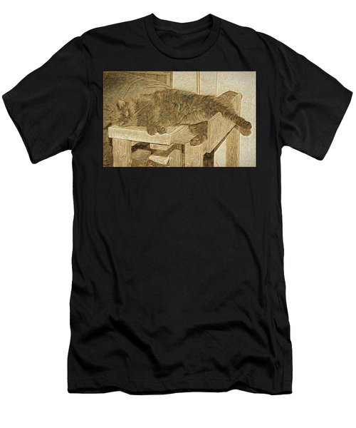 Mannie Is Relaxing Men's T-Shirt (Athletic Fit)