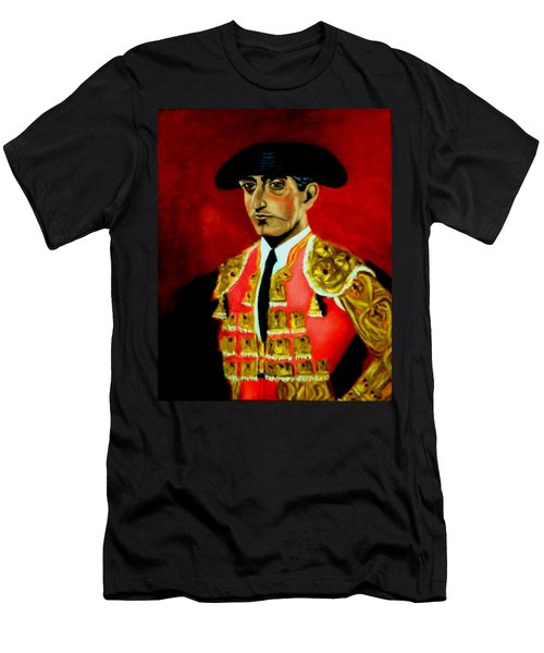 Manolete  Men's T-Shirt (Slim Fit) by Manuel Sanchez