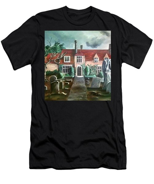 Mansion Men's T-Shirt (Slim Fit) by Persephone Artworks