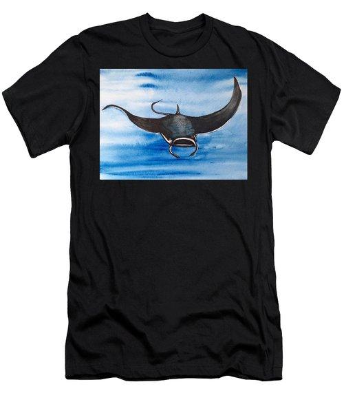 Manta Ray Men's T-Shirt (Athletic Fit)