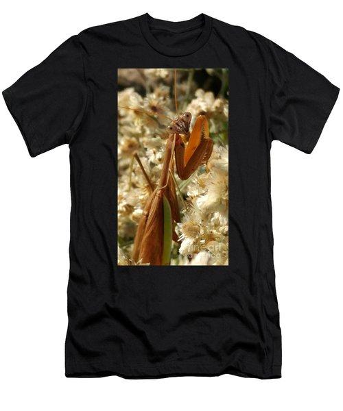 Mantis Pose Men's T-Shirt (Athletic Fit)